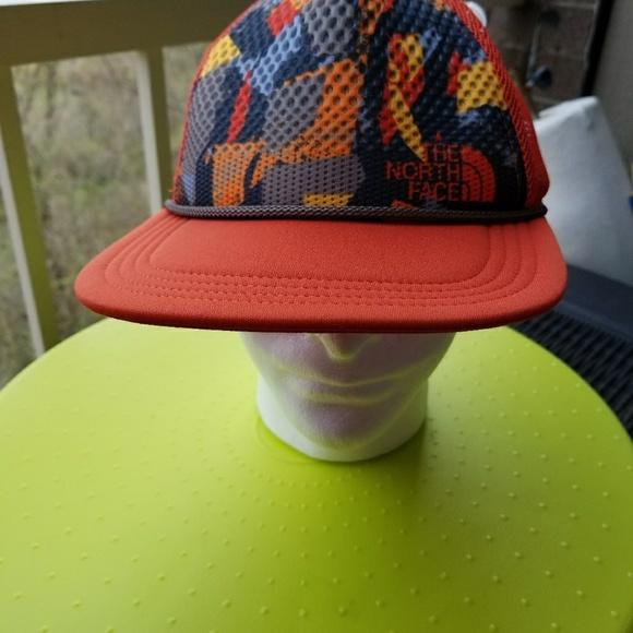 The North Face Trail Trucker Hat Tibetan Orange d3ee92315f0